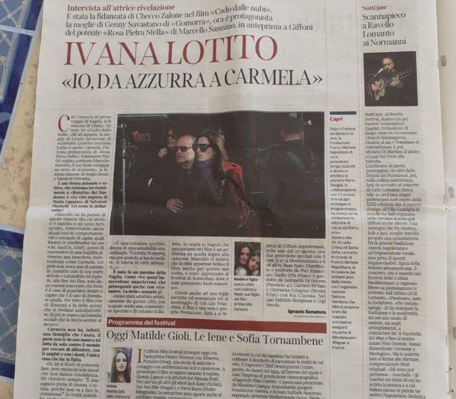 """Uscita del film """"Rosa Pietra Stella"""", con regia di Marcello Sannino"""