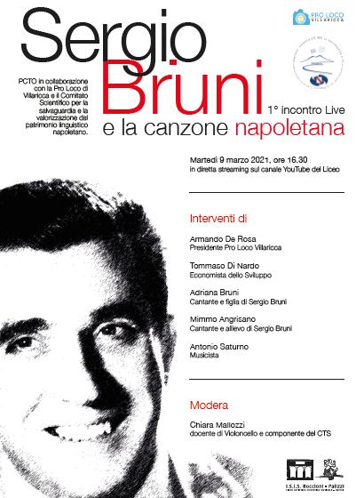 1° Incontro in streaming: Sergio Bruni e la Canzone Napoletana