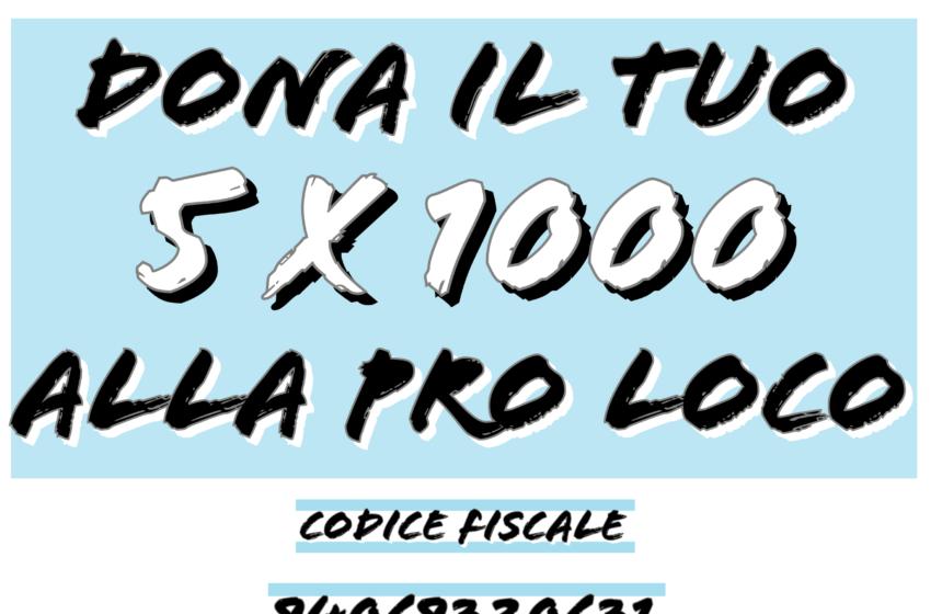 5 x 1000   Pro Loco di Villaricca