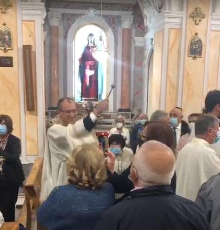 L'arrivo di Don Antonio De Filippis a Villaricca presso la Parrocchia S.S. Maria dell'Arco